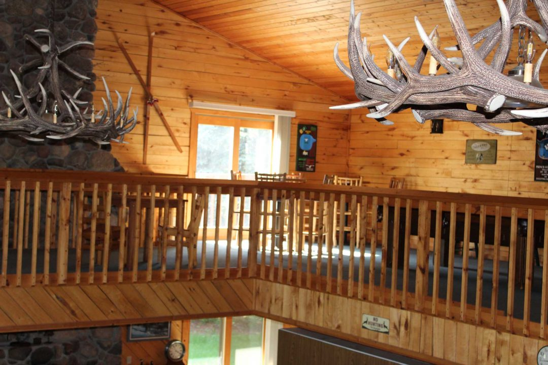 View of recreation area in loft