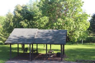 Picnic Shelter & Fire Pit